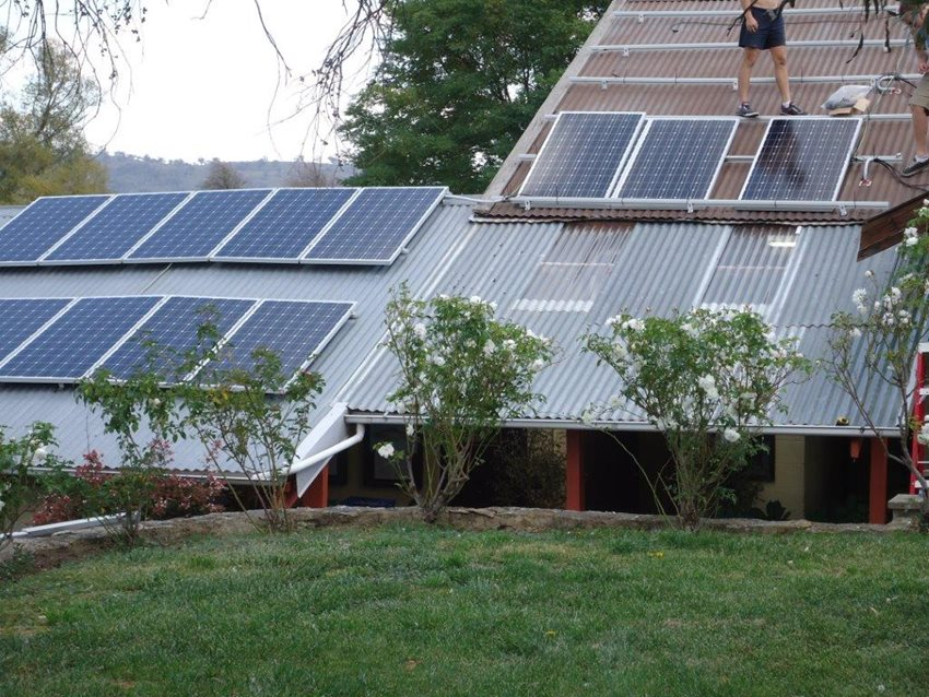 Solar power reducing our operating costs