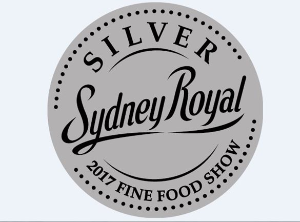 2017 Sydney Royal Fine Food Show silver medal
