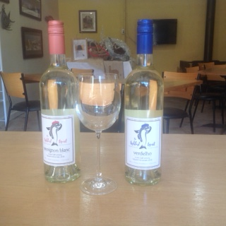 The Tickled Trout wines